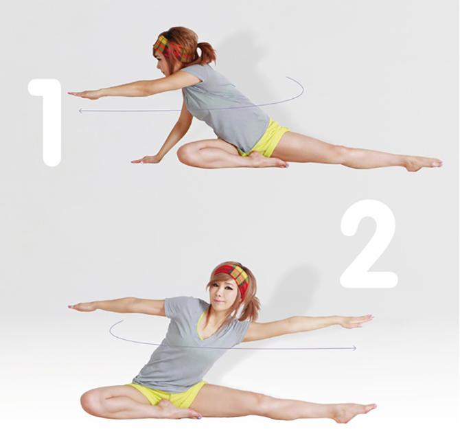 Bật mí 6 bài tập giúp vòng eo trở nên thon gọn, săn chắc3