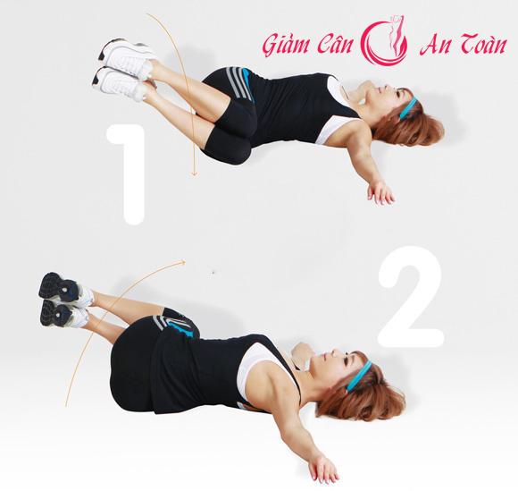 6 động tác giúp giảm mỡ bụng hiệu quả-phần 3