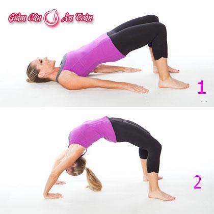 6 động tác giúp giảm mỡ bụng hiệu quả-phần 2