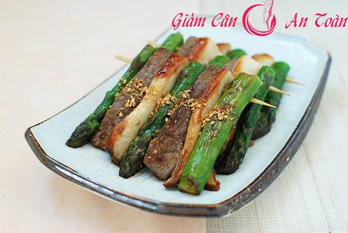 món ăn kiêng từ rau củ nướng giúp giảm cân-phần 2
