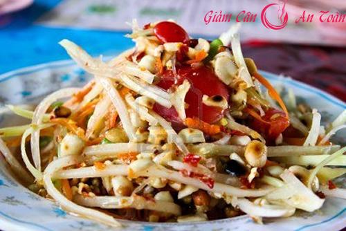Món ngon giảm cân hiệu quả cuối tuần với salad Thái-phần 1