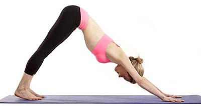những bài tập yoga giúp giảm cân tay chân thon gọn -phần 1