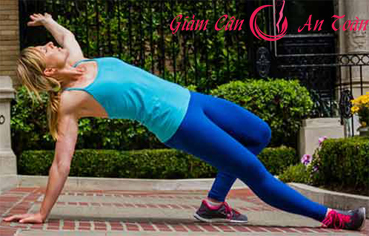 những bài tập yoga giúp giảm cân tay chân thon gọn -phần 3