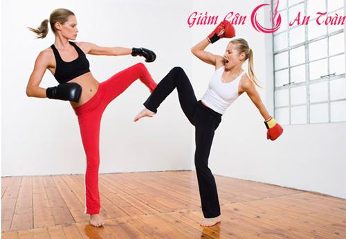 phương pháp giảm cân hiệu quả với kickboxing-phần 2