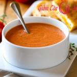 Súp cà chua-món ăn giảm cân hiệu quả