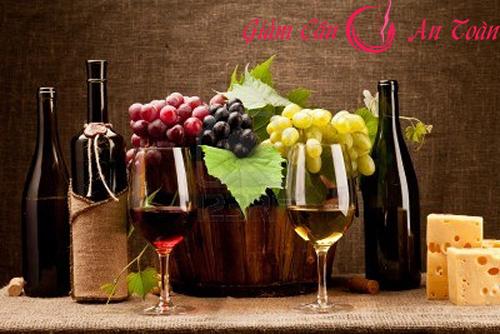 Các món ăn kết hợp với rượu vang giúp bạn giảm cân- phần 2