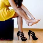 Ảnh hưởng sức khỏe của đôi giày cao gót