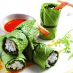 Cuốn diếp cá món ăn giảm cân lạ miệng