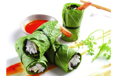 Cuốn diếp cá món ăn giảm cân lạ miệng-phần 2
