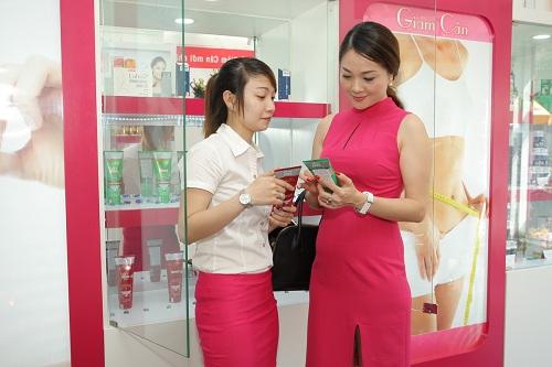 Hoàng Thị Yến rất quan tâm đến dòng sản phẩm Gel tan mỡ
