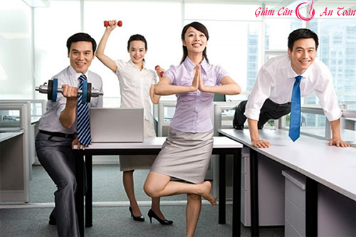 Mẹo giảm cân cho bạn gái công sở-phần 4