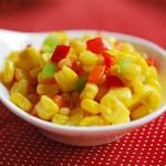 Món ăn giảm cân-salad bắp ngọt và bơ