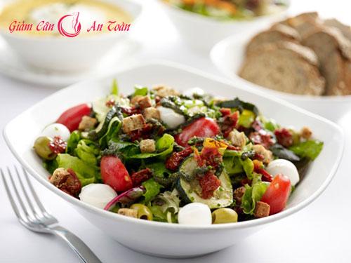 Salad đậu trắng- cà chua giúp giảm mỡ bụng-phần 2