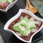 Chè đậu đỏ, thạnh rau câu- món ăn vặt giúp giảm cân
