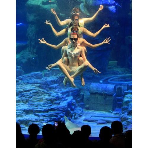 Giảm cân với yoga dưới nước- bạn có tin-p1