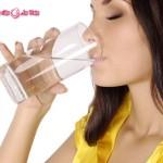 Không thể giảm cân nhanh chóng nếu uống nước