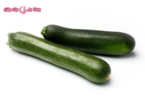 Món ăn thanh mát giảm cân với canh bí ngòi -phần 1