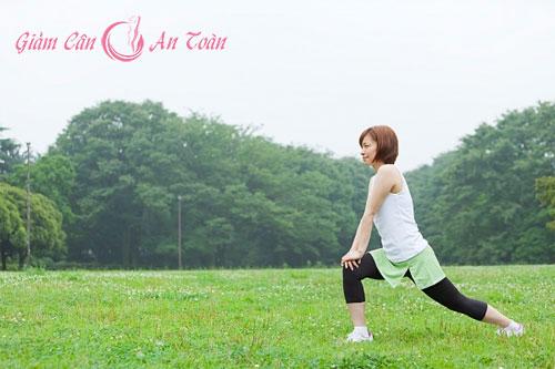 Cách luyện tập giảm béo trong mùa hè