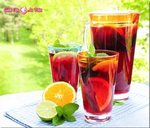 Tự làm coctail dâu, trái cây giúp giảm cân-phần 2