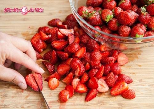 Tự làm coctail dâu, trái cây giúp giảm cân- phần 3