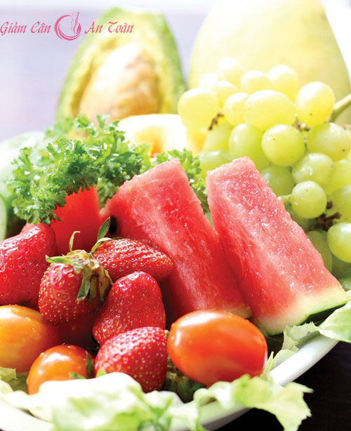 ăn trái cây đúng cách để giảm cân