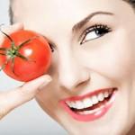 Cách dưỡng da mùa hè với cà chua