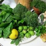 Giảm cân hiệu quả với thực phẩm màu xanh