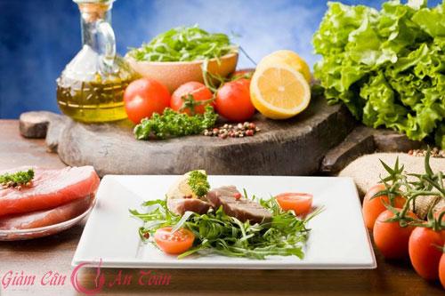 lựa chọn thực phẩm hợp lý để giảm cân