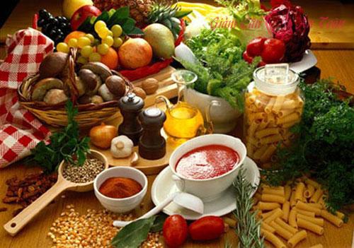 những loại thực phẩm không nên ăn cùng nhau