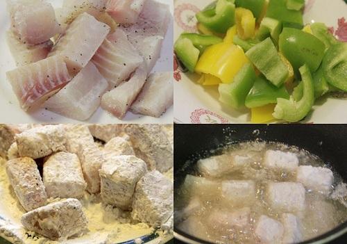 Đổi vị giảm cân ngon miệng với cá rán xào chua ngọt 2