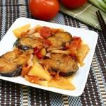 Hấp dẫn hơn với món cá nục kho dứa cà chua hỗ trợ giảm cân hiệu quả
