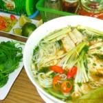 Thơm ngon hơn với món bún cá rô rau cần giúp giảm cân hiệu quả