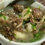 Món ngon giảm cân cuối tuần với canh sườn non nấu khoai