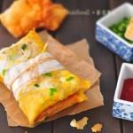 Độc đáo món bánh tráng cuộn kiểu mới cho người giảm cân