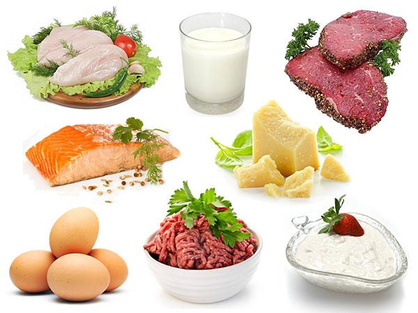 Cung cấp đầy đủ hàm lượng protein cần thiết
