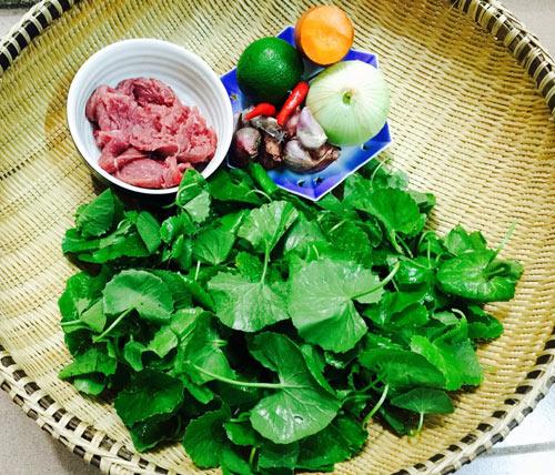 Những nguyên liệu cần thiết để chế biến món ăn