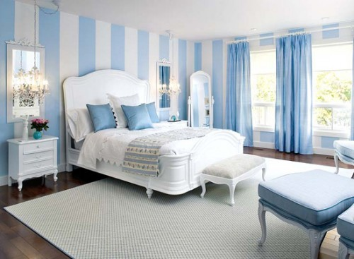 Một căn phòng xanh dương rất có lợi cho việc giảm cân.