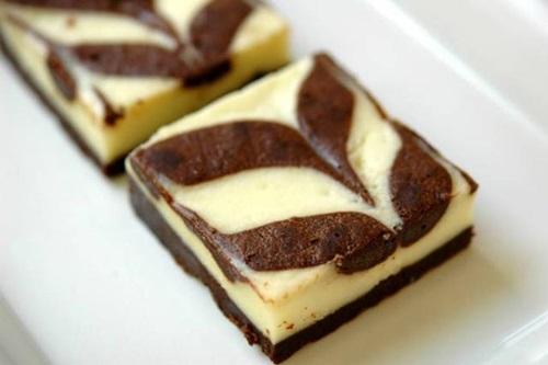 Học cách làm bánh cheese cake brownie hấp dẫn 2