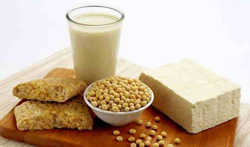 Tăng cường bổ sung collagen có trong hạt đậu nành