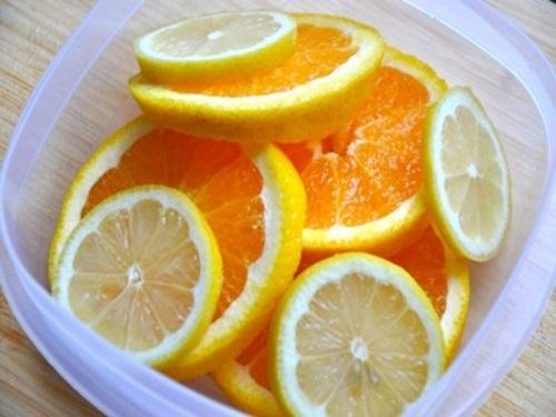Tuyệt chiêu trị hôi nách đơn giản từ cam và chanh 2