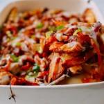 Chế biến món ăn giảm cân lạ miệng với kim chi nướng pho mát, khoai tây