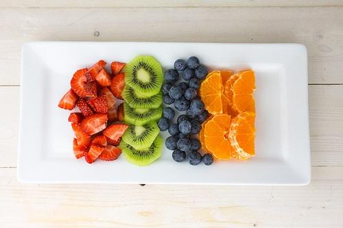 Kem trái cây ngũ sắc ngọt mát cho ngày hè oai bức 1