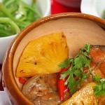 Thích mê bữa cơm giảm cân với món cá ngừ kho dứa