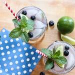 Tự làm coctail blueberry thơm mát cho ngày nóng