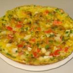 Đổi mới thực đơn giảm cân với món trứng rán rau củ