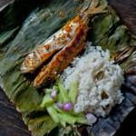 Thơm ngon và lạ miệng hơn với món cá nướng lá chuối