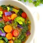 Tự làm món soup dinh dưỡng từ các loại rau củ