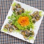 Thơm lừng với món sò lông nướng mỡ hành hấp dẫn tại nhà