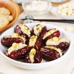 Bồi bổ sức khỏe giảm cân hiệu quả với món táo đỏ nhồi hạt sen