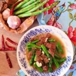 Thơm ngon, đậm đà với món bò sốt măng tây giúp giảm cân hiệu quả